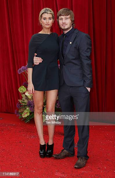 Charley Webb and Matthew Wolfenden attend The British Soap Awards at Granada Television Studios on May 14 2011 in Manchester United Kingdom