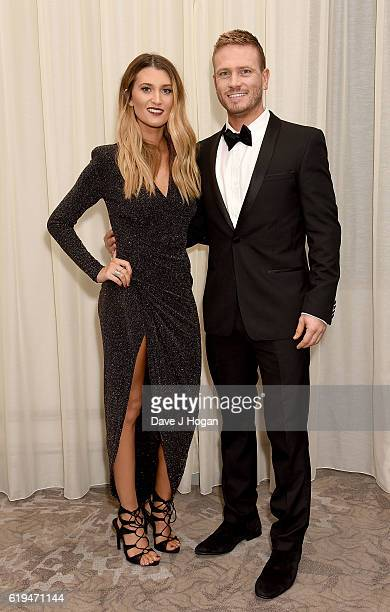 Charley Webb and Matthew Wolfenden attend the Daily Mirror Pride of Britain Awards in Partnership with TSB at The Grosvenor House Hotel on October 31...