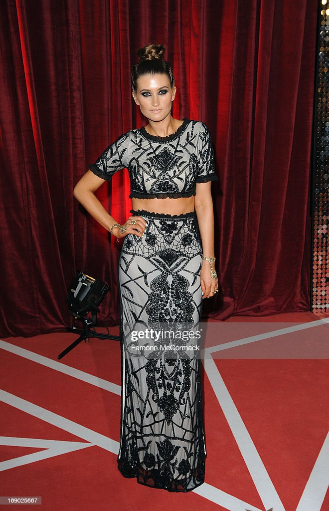 Charley Webb attends the British Soap Awards at Media City on May 18, 2013 in Manchester, England.