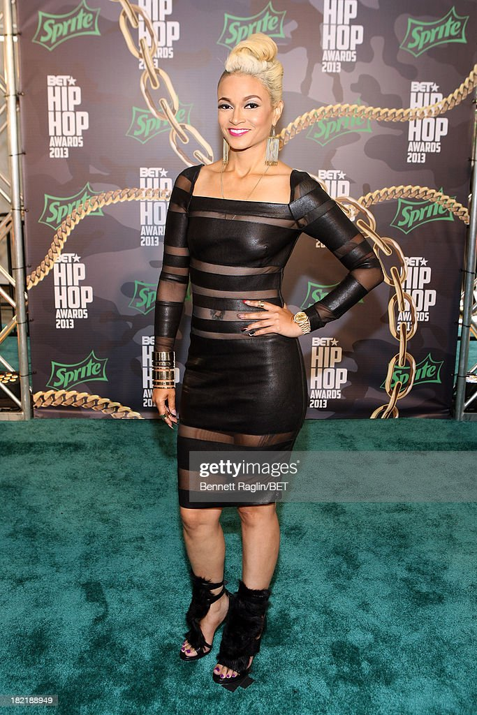 Charli Baltimore attends the BET Hip Hop Awards 2013 at Boisfeuillet Jones Atlanta Civic Center on September 28, 2013 in Atlanta, Georgia.