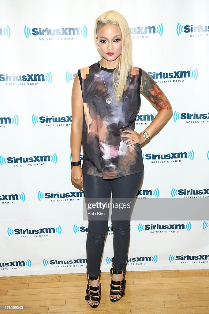 Charli Baltimore visits at SiriusXM Studios on August 28, 2013 in New York City.