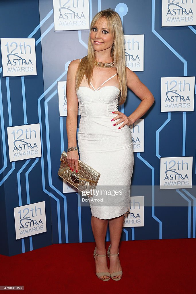 Charli Robinson attends the 12th Astra Awards at Carriageworks on March 20, 2014 in Sydney, Australia.
