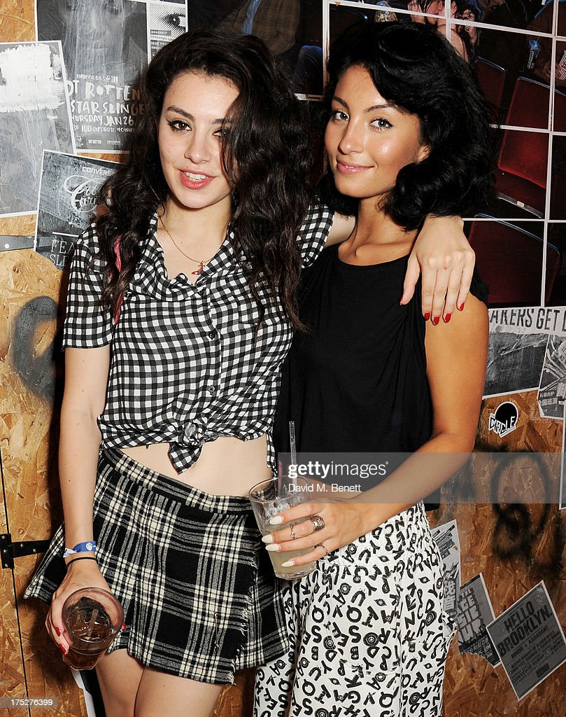 Charli XCX (L) and Yasmin attend Converse At The Circle, celebrating the Chuck Taylor All Star 'Rock Craftsmanship' collection, on August 1, 2013 in London, United Kingdom.