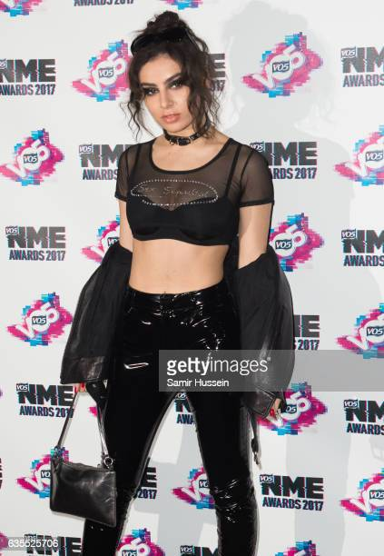 Charli XCX arrives at the VO5 NME awards 2017 on February 15 2017 in London United Kingdom