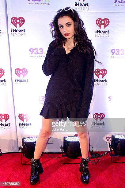 Charli XCX attends 933 FLZ's Jingle Ball 2014 at Amalie Arena on December 22 2014 in Tampa Florida
