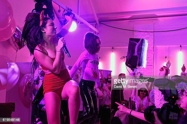 Charli XCX attends Charli XCX 'After The After Party' Halloween Party on October 31 2016 in London England