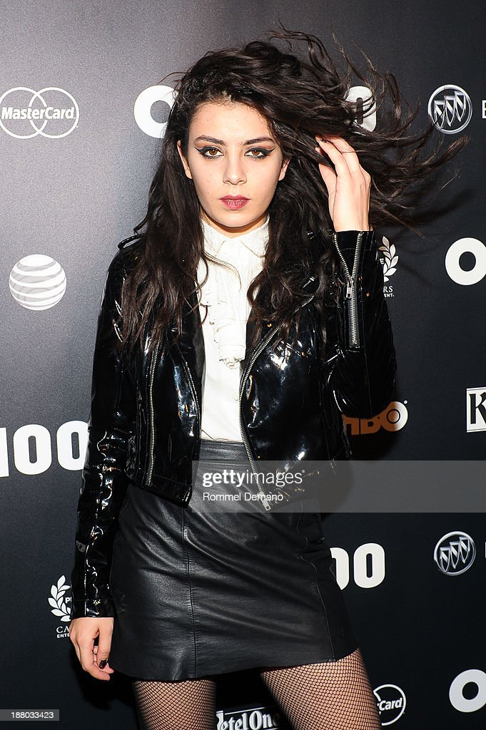 <a gi-track='captionPersonalityLinkClicked' href=/galleries/search?phrase=Charli+XCX&family=editorial&specificpeople=5807231 ng-click='$event.stopPropagation()'>Charli XCX</a> attends the 2013 OUT100 gala at Terminal 5 on November 14, 2013 in New York City.