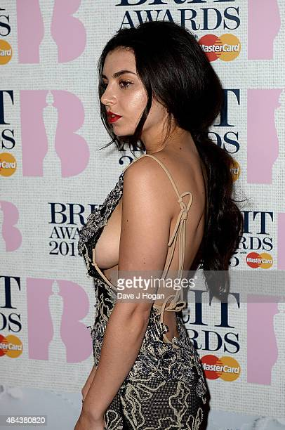 Charlie XCX attends the BRIT Awards 2015 at The O2 Arena on February 25 2015 in London England