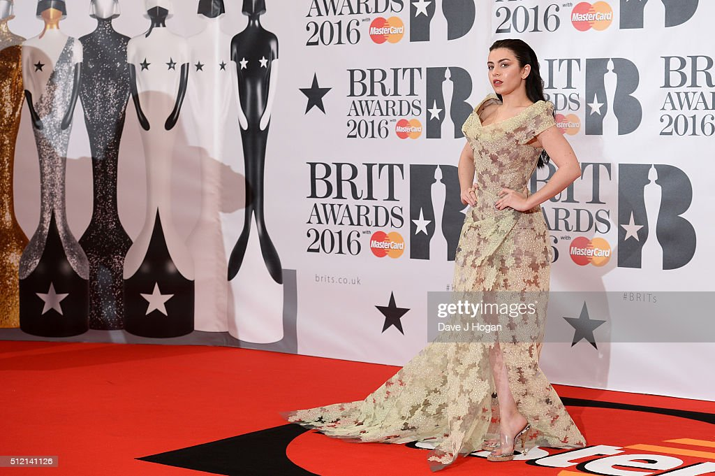 Charli XCX attends the BRIT Awards 2016 at The O2 Arena on February 24, 2016 in London, England.