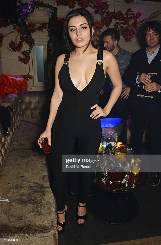 Charli XCX attends the Ciroc NME Awards 2016 after party hosted by Fran Cutler at The Cuckoo Club on February 17 2016 in London England