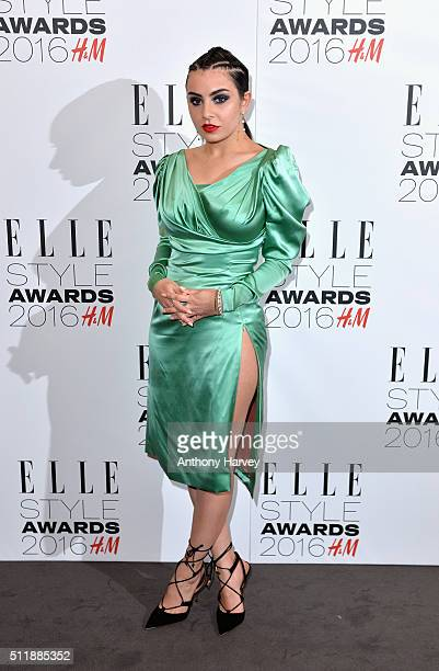 Charli XCX attends The Elle Style Awards 2016 on February 23 2016 in London England