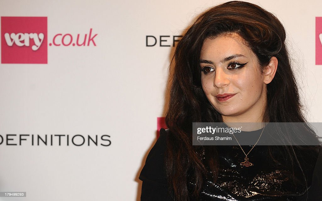 <a gi-track='captionPersonalityLinkClicked' href=/galleries/search?phrase=Charli+XCX&family=editorial&specificpeople=5807231 ng-click='$event.stopPropagation()'>Charli XCX</a> attends the launch party of very.co.uk's Definitions range at Somerset House on September 4, 2013 in London, England.