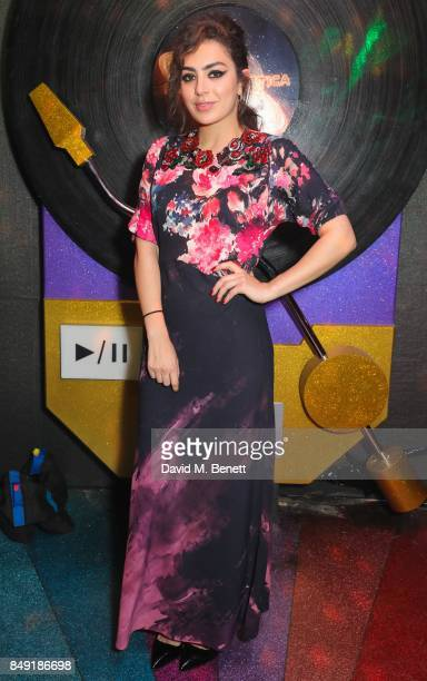 Charli XCX attends the Miu Miu LOVE party at Loulou's on September 18 2017 in London England