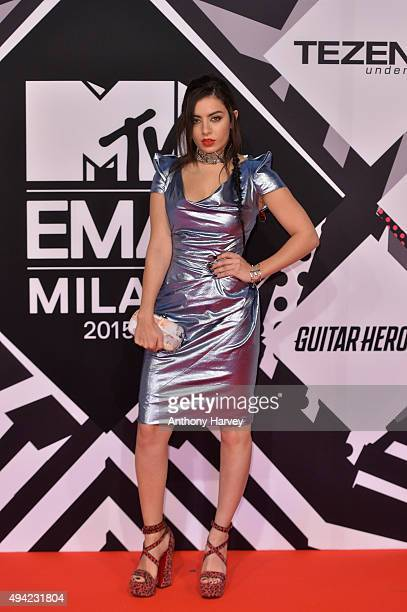 Charli XCX attends the MTV EMA's 2015 at Mediolanum Forum on October 25 2015 in Milan Italy