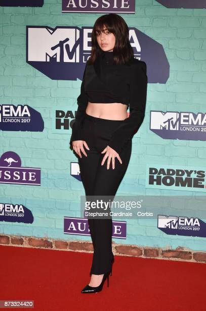 Charli XCX attends the MTV EMAs 2017 at The SSE Arena Wembley on November 12 2017 in London England