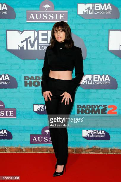 Charli XCX attends the MTV EMAs 2017 held at The SSE Arena Wembley on November 12 2017 in London England