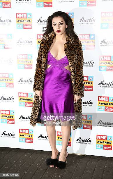 Charli XCX attends the NME Awards at Brixton Academy on February 18 2015 in London England