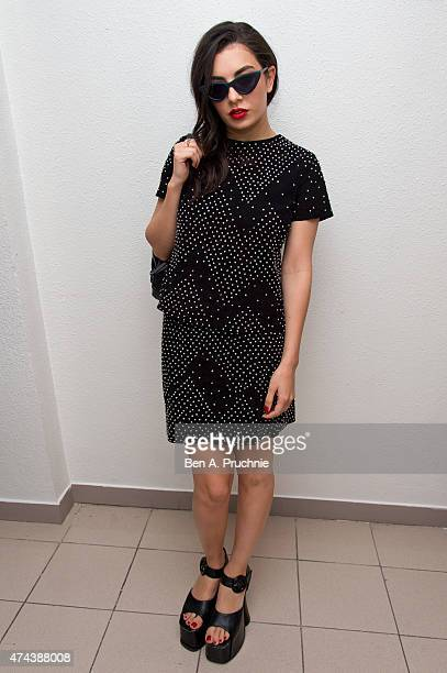 Charlie XCX attends the 'Southpaw' screening at The 68th Annual Cannes Film Festival at Palais des Festivals on May 22 2015 in Cannes France