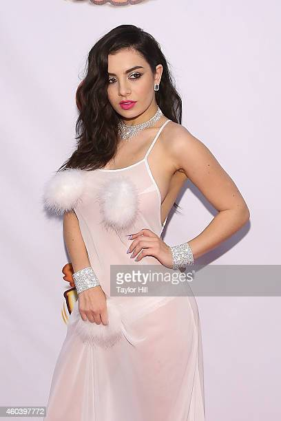 Charli XCX attends Z100's Jingle Ball at Madison Square Garden on December 12 2014 in New York City