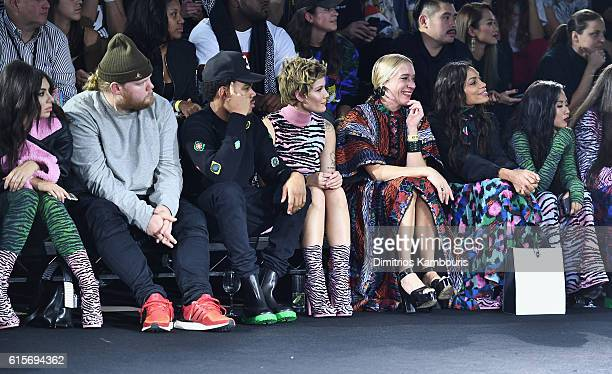 Charli XCX Chance the Rapper Halsey Chloe Sevigny Rosario Dawson and Suboi attend KENZO x HM Launch Event Directed By JeanPaul Goude' at Pier 36 on...