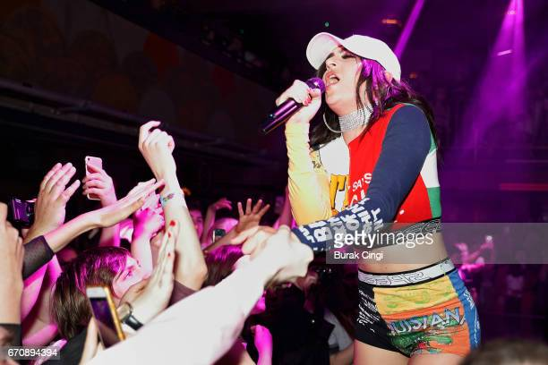 Charli XCX performs at The Jazz Cafe on April 20 2017 in London United Kingdom