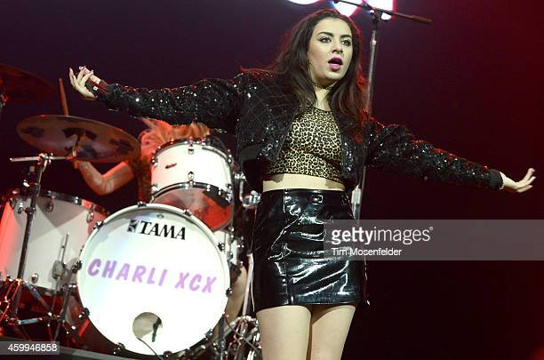 Charli XCX performs during Now 997's Triple Ho Show at SAP Center on December 3 2014 in San Jose California