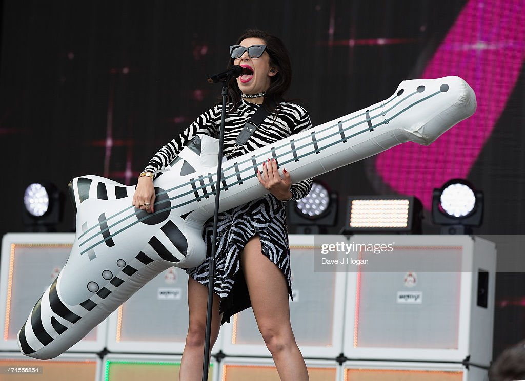 Charli XCX performs on stage at BBC Radio 1's Big Weekend Norwich 2015 - Day 1 at Earlham Park on May 23, 2015 in Norwich, England.