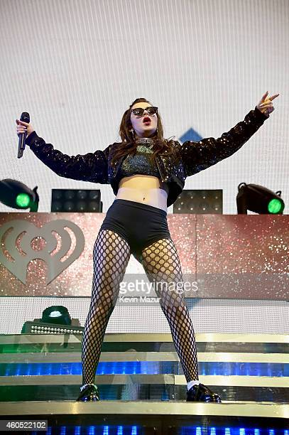 Charli XCX performs onstage during HOT 995's Jingle Ball 2014 Presented by Mattress Warehouse at the Verizon Center on December 15 2014 in Washington...