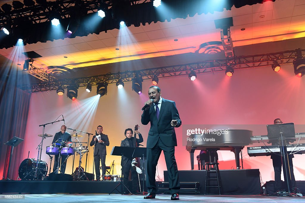Charlie Aponte performs onstage at BMI's 22nd Annual Latin Music Awards at Fountainbleau Miami Beach on March 31 2015 in Miami Beach Florida