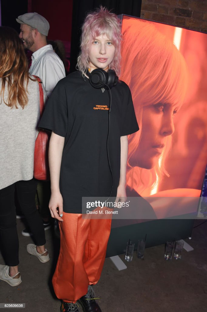 Charlie Barker attends a special screening of 'Atomic Blonde' at The Village Underground on August 2, 2017 in London, England.
