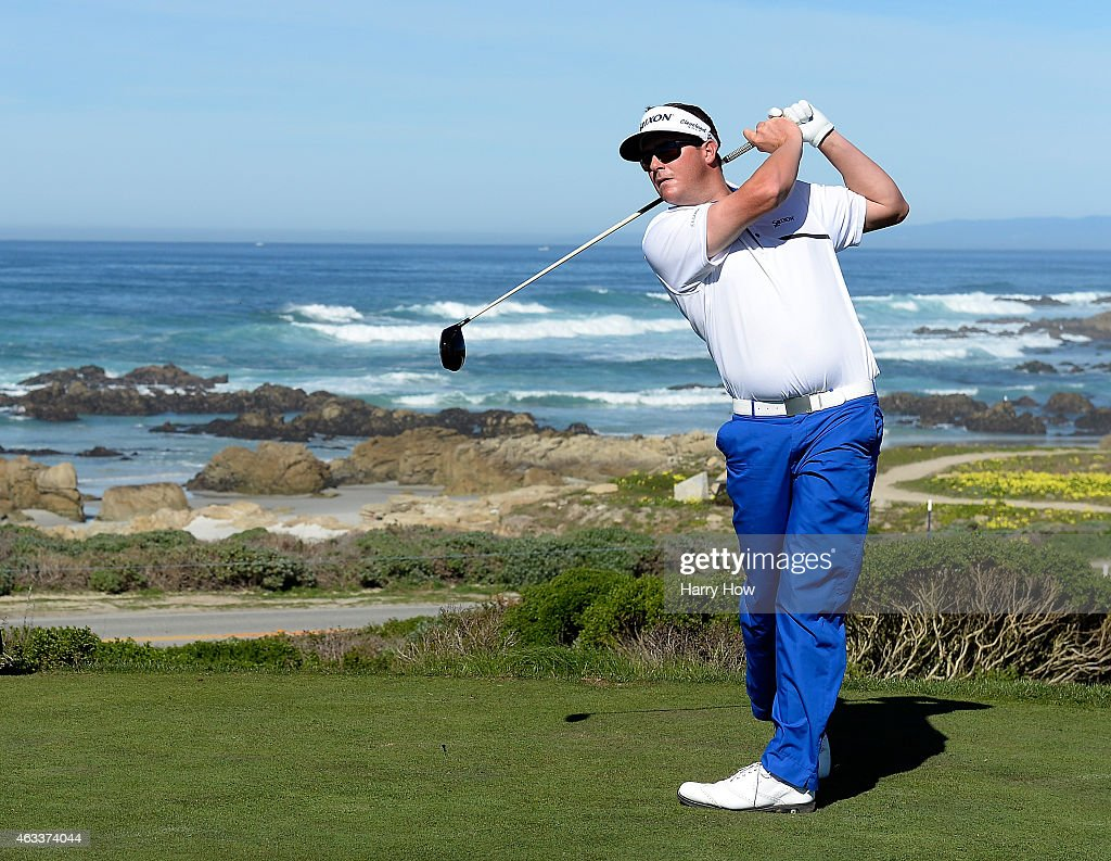 <a gi-track='captionPersonalityLinkClicked' href=/galleries/search?phrase=Charlie+Beljan&family=editorial&specificpeople=5926093 ng-click='$event.stopPropagation()'>Charlie Beljan</a> hits a tee shot on the 13th hole during the second round of the AT&T Pebble Beach National Pro-Am at the Monterey Penninsula Country Club on February 13, 2015 in Pebble Beach, California.