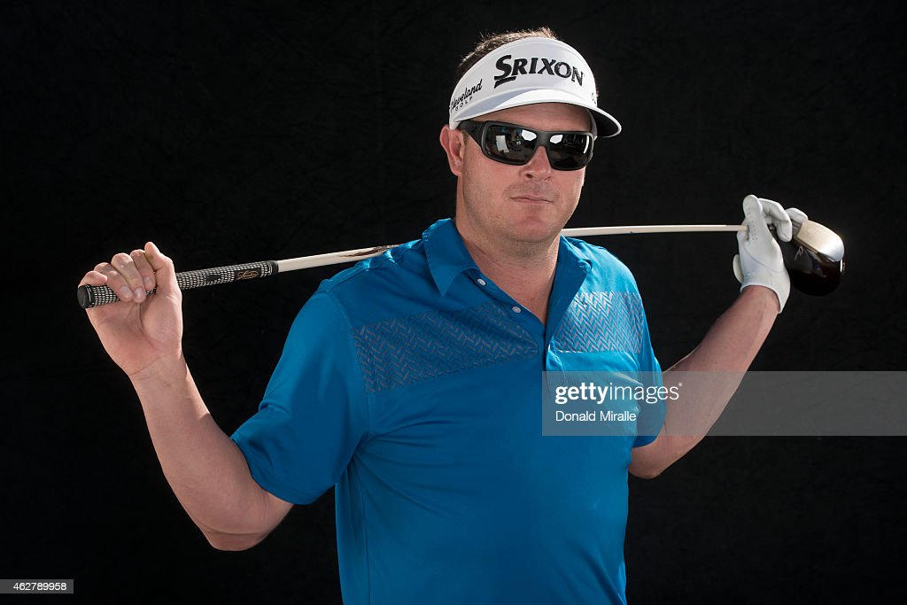 Charlie Beljan poses for a portrait in studio during the Farmers Insurance Open Pro Am on February 4, 2015 at Torrey Pines Golf Course in La Jolla, California.