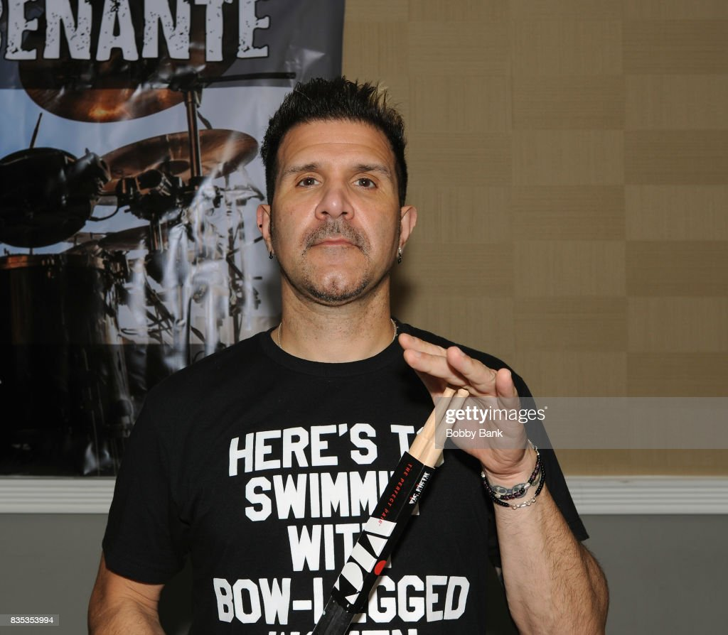Charlie Benante of Anthrax attends the Monster Mania Con 2017 at NJ Crowne Plaza Hotel on August 18, 2017 in Cherry Hill, New Jersey.