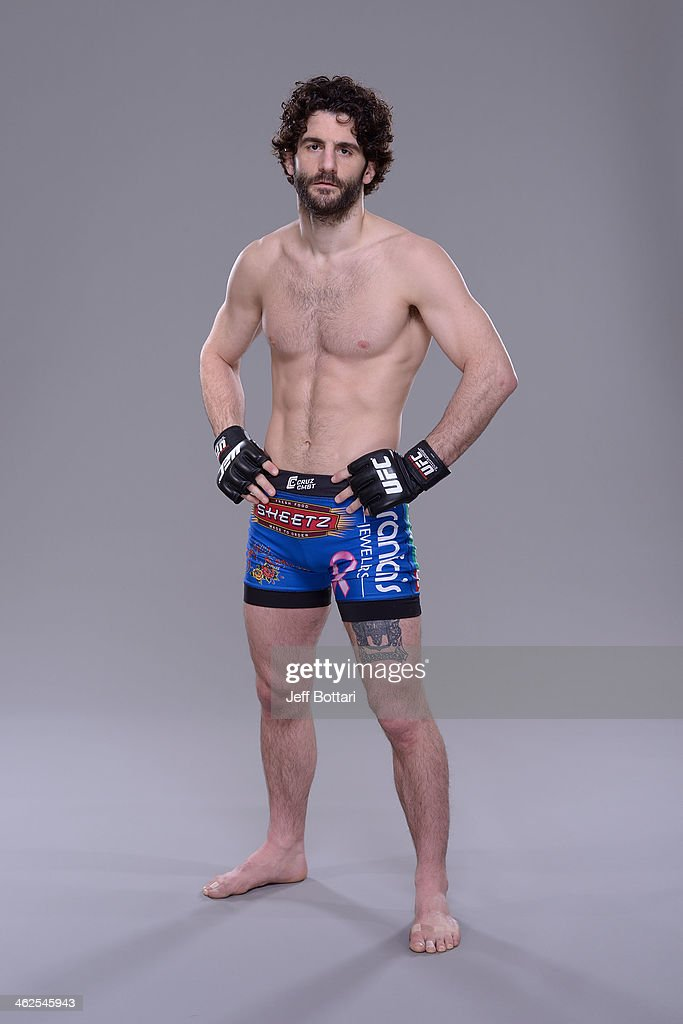 Charlie Brenneman poses for a portrait during a UFC photo session on January 12, 2014 in Duluth, Georgia.