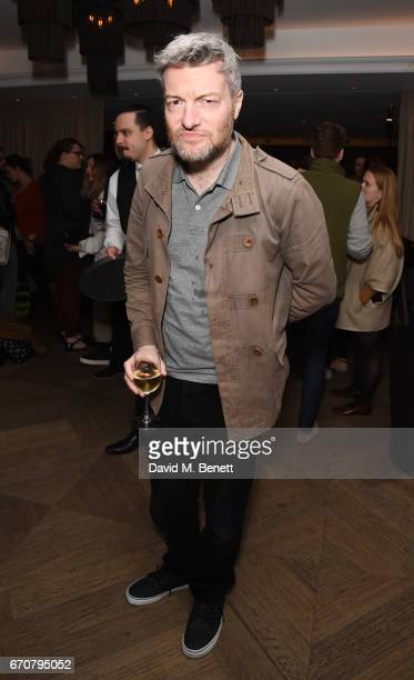 Charlie Brooker attends a gala screening of 'Mindhorn' at the May Fair Hotel on April 20 2017 in London England