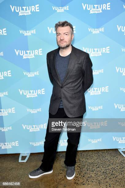 Charlie Brooker attends a screening of 'Black Mirror' during Vulture Festival at Milk Studios on May 21 2017 in New York City