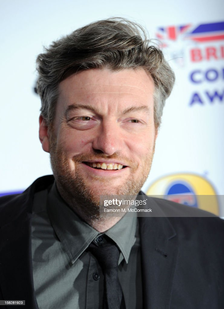 Charlie Brooker attends the British Comedy Awards at Fountain Studios on December 12, 2012 in London, England.