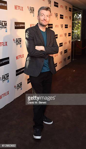 Charlie Brooker attends the LFF Connects Television 'Black Mirror' event during the 60th BFI London Film Festival at Chelsea Cinema on October 6 2016...