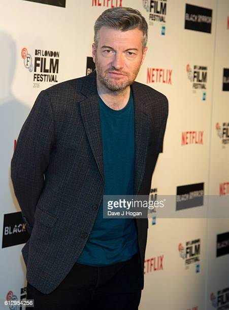 Charlie Brooker attends the LFF Premiere of 'Black Mirror' at Bluebird on October 6 2016 in London England
