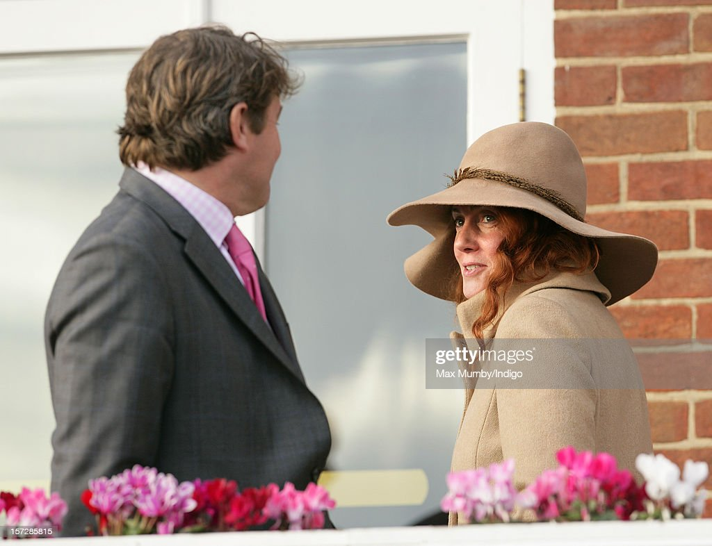 Charlie Brooks and <a gi-track='captionPersonalityLinkClicked' href=/galleries/search?phrase=Rebekah+Brooks&family=editorial&specificpeople=6848116 ng-click='$event.stopPropagation()'>Rebekah Brooks</a> attend the Hennessy Gold Cup at Newbury Racecourse on December 01, 2012 in Newbury, England.