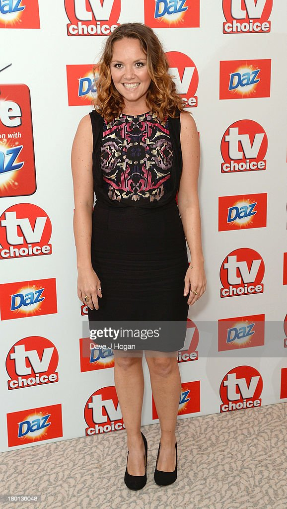 Charlie Brooks attends the TV Choice Awards 2013 at The Dorchester on September 9, 2013 in London, England.