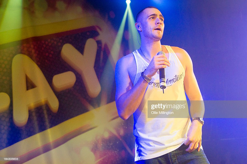 Charlie Brown performs at G-A-Y on October 12, 2013 in London, England.