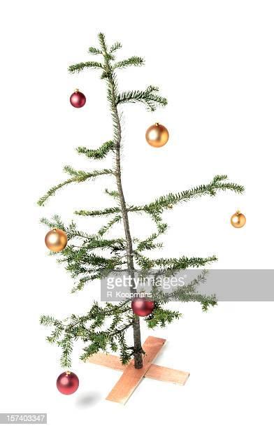 Charlie Brown-style Christmas tree, un symbole de économique fois?