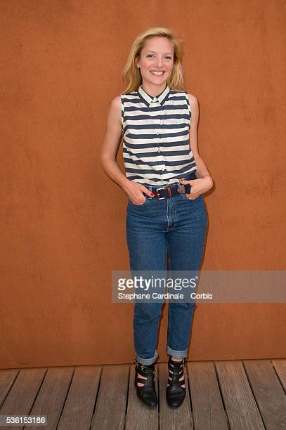Charlie Bruneau attends the 2015 Roland Garros French Tennis Open Day Twelve on June 4 2015 in Paris France