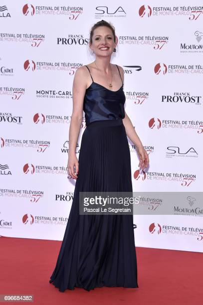 Charlie Bruneau attends the 57th Monte Carlo TV Festival Opening Ceremony on June 16 2017 in MonteCarlo Monaco
