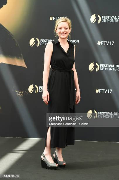 Charlie Bruneau from TV Show 'En famille' poses for a Photocall during the 57th Monte Carlo TV Festival Day Two on June 17 2017 in MonteCarlo Monaco