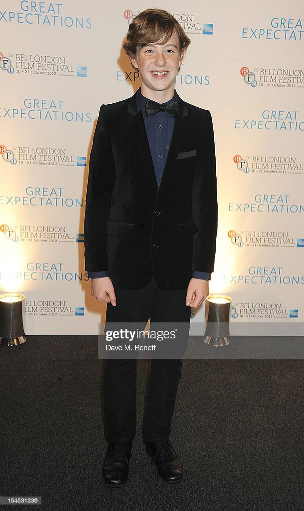 Charlie Callaghan attends an after party following the Gala Premiere of 'Great Expectations' which closes the 56th BFI London Film Festival at Battersea Power station on October 21, 2012 in London, England.