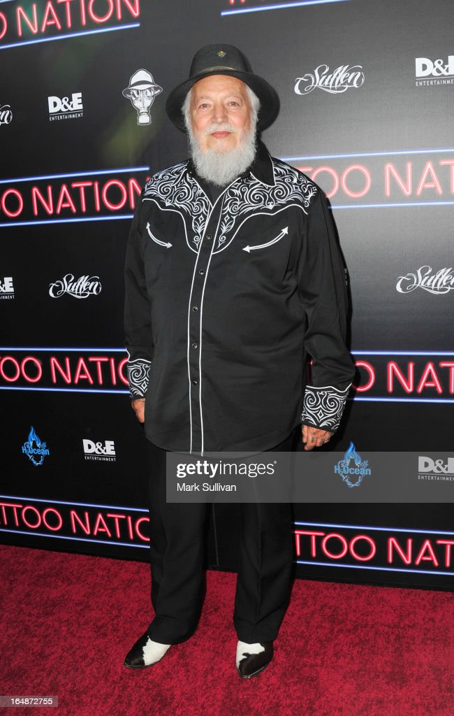 Charlie Cartwright attends the premiere of 'Tattoo Nation' at ArcLight Cinemas on March 28, 2013 in Hollywood, California.