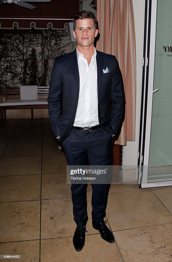 Charlie Carver attends GLSEN Pride Celebration in Los Angeles at Sunset Tower Hotel on June 8, 2016 in West Hollywood, California.