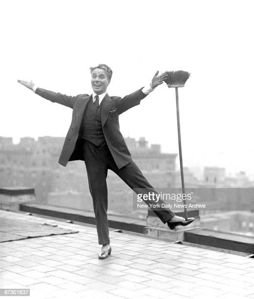 Charlie Chaplin came swaggering into town in all his glory Inspite of being overrun by screen friends and flooded with congratulations on his new...
